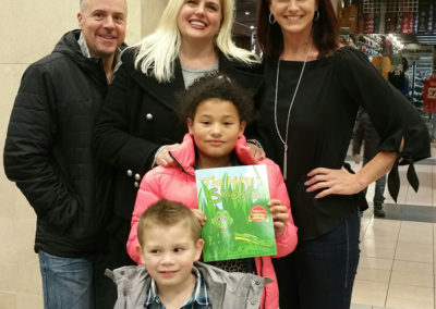 At an Idaho Barnes and Noble book signing.